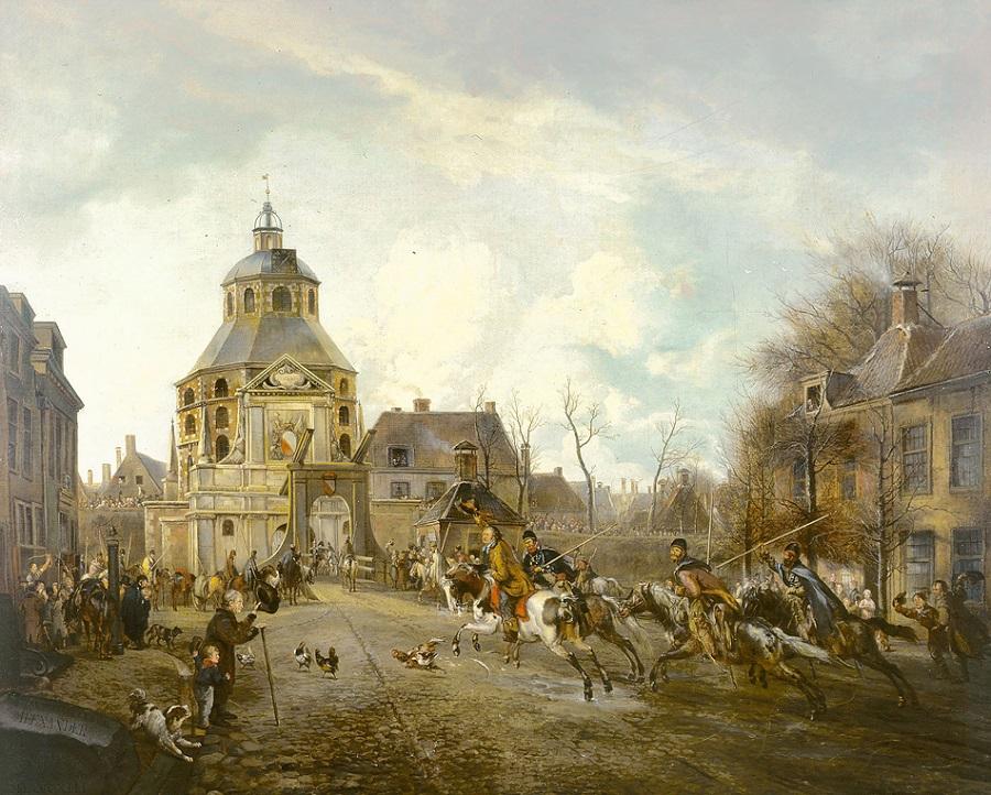 Появление казаков в Утрехте в 1813 году (1818 год).