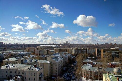 МГУ и Лужники