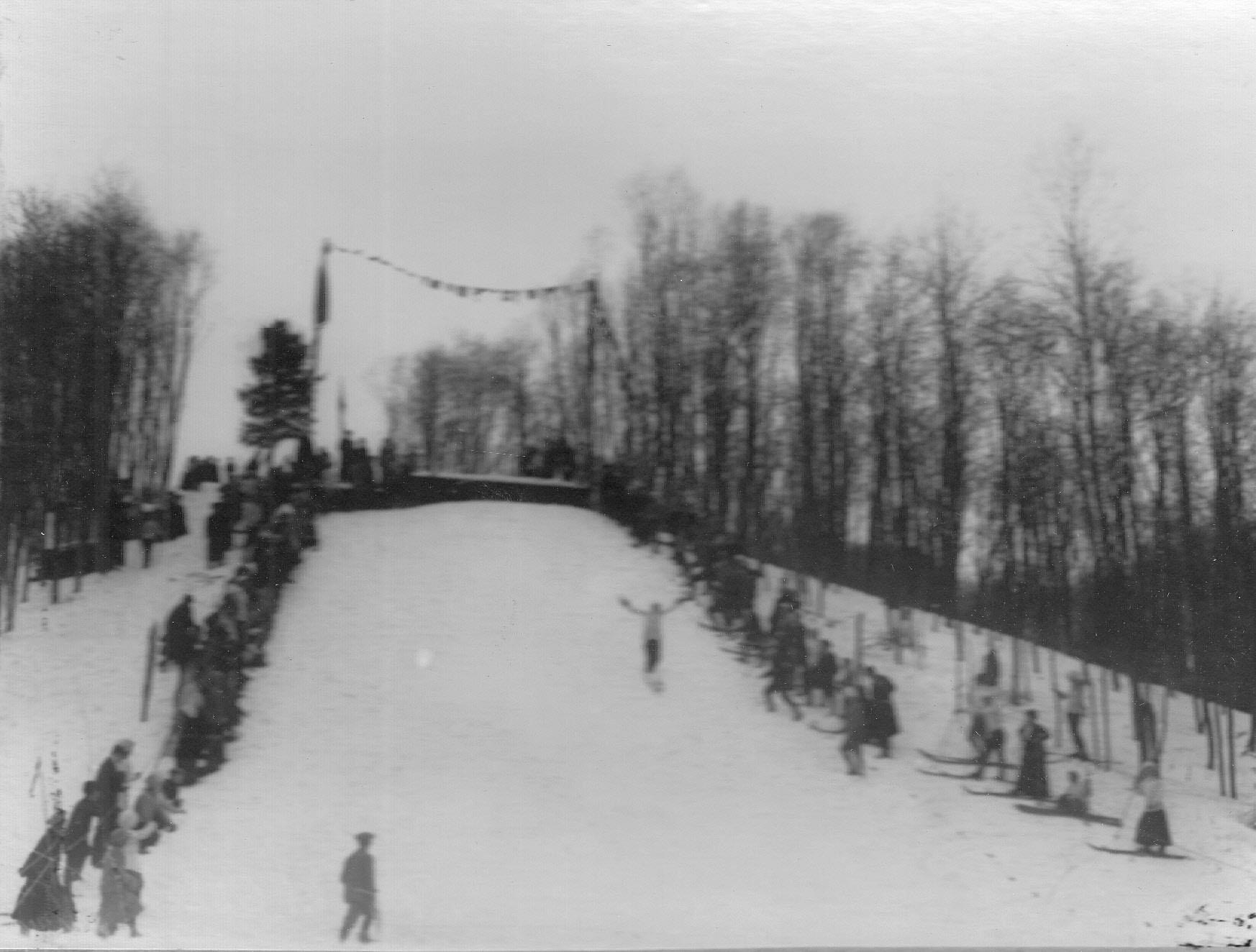 15. Соревнования лыжников