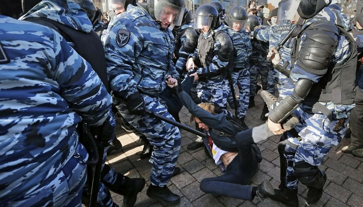 Акция против коррупции в России 26 марта 2017