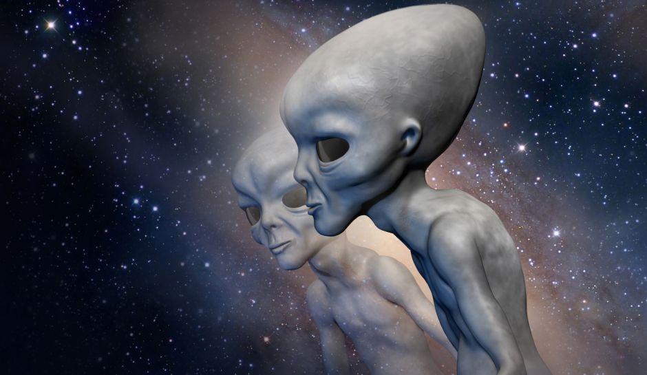 Открытки с Всемирным днём НЛО. Инопланетяне