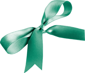 зеленые банты