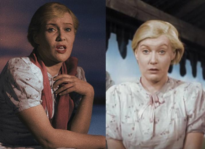 В фильме «Волга-Волга», вышедшем в 1937 году, Орловой 34-35.