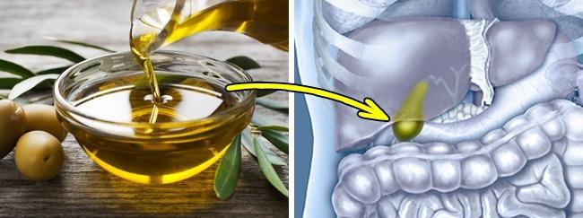 © depositphotos  © depositphotos  Употребление оливкового масла сфруктовым соком помога