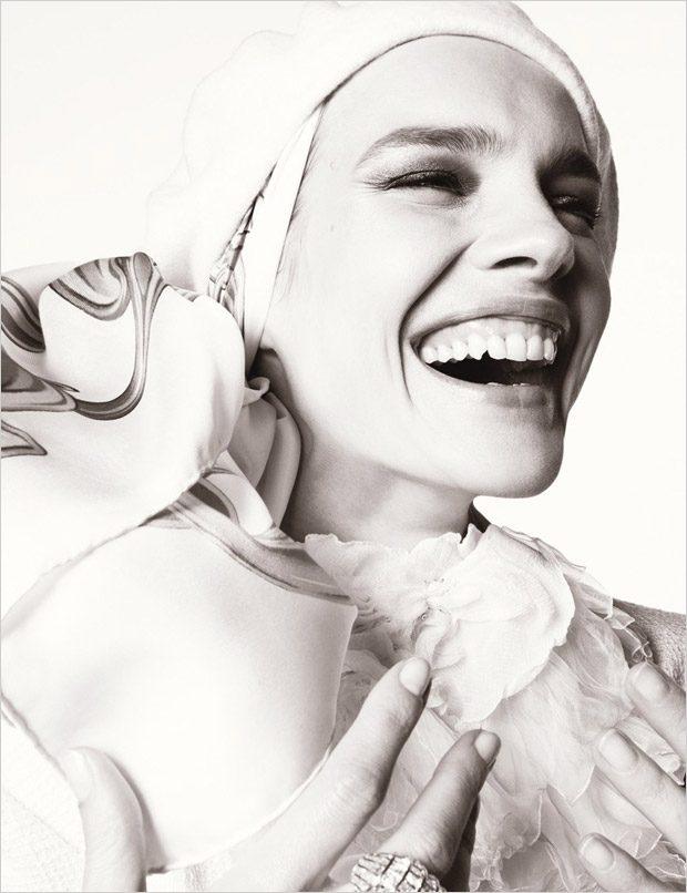 Наталья Водянова в W Magazine