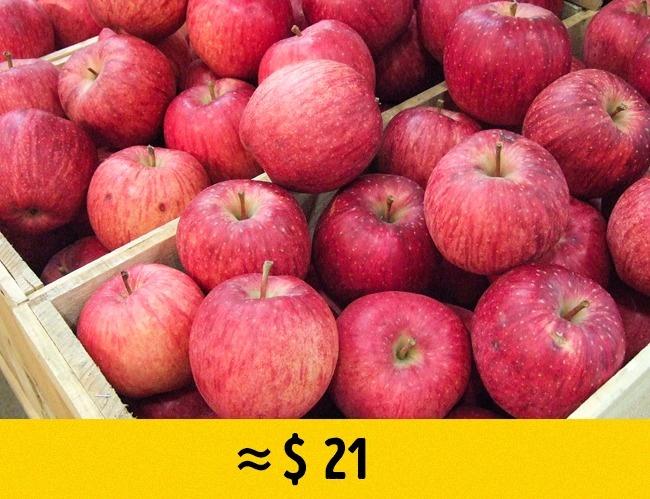 © By Sakurai Midori - Own work, CC BY-SA 3.0/Wikipedia  Эти яблоки— гордость японских селекци