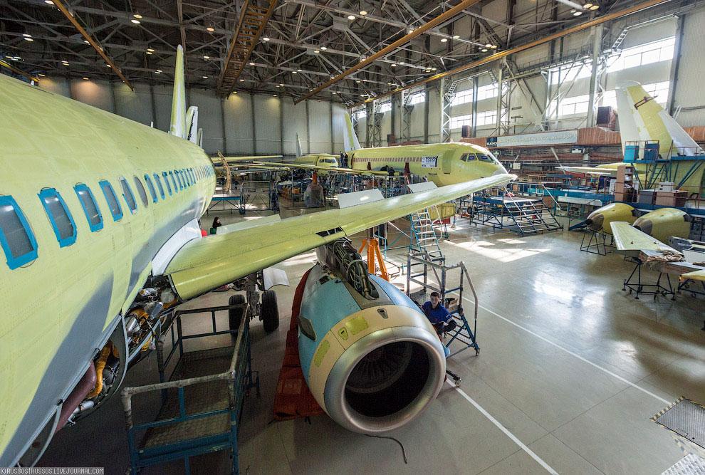 Как рассказали летчики-испытатели, двигатель SaM146 показал в эксплуатации поразительную наде