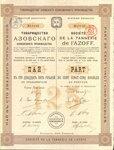 Товарищество Азовского кожевенного производства   1913 год
