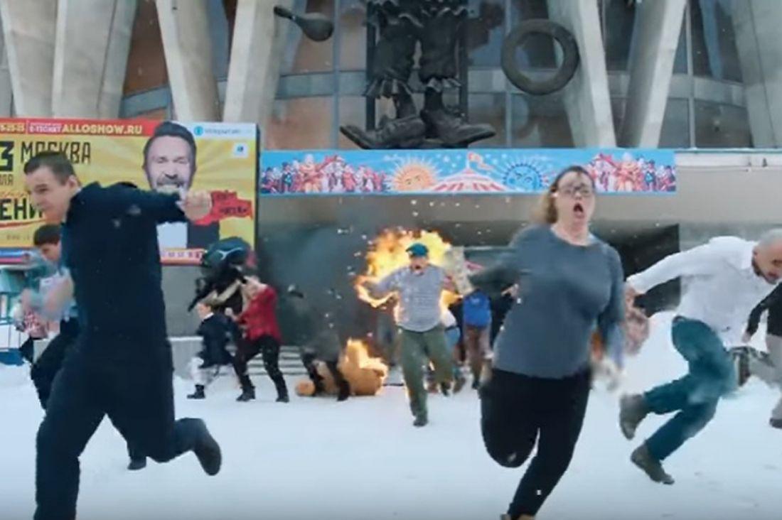 Интернет покоряет новый кровавый клип «Ленинграда» от кинорежиссера «Хардкора»
