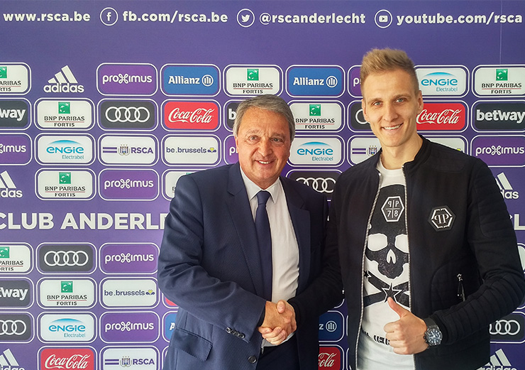 Форвард «Динамо» Теодорчик договорился оличном договоре с«Андерлехтом»