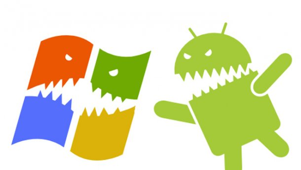 Андроид впервый раз опередил Windows попоказателям пользоватей