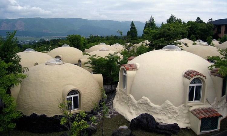 ВЯпонии строят пенопластовые дома