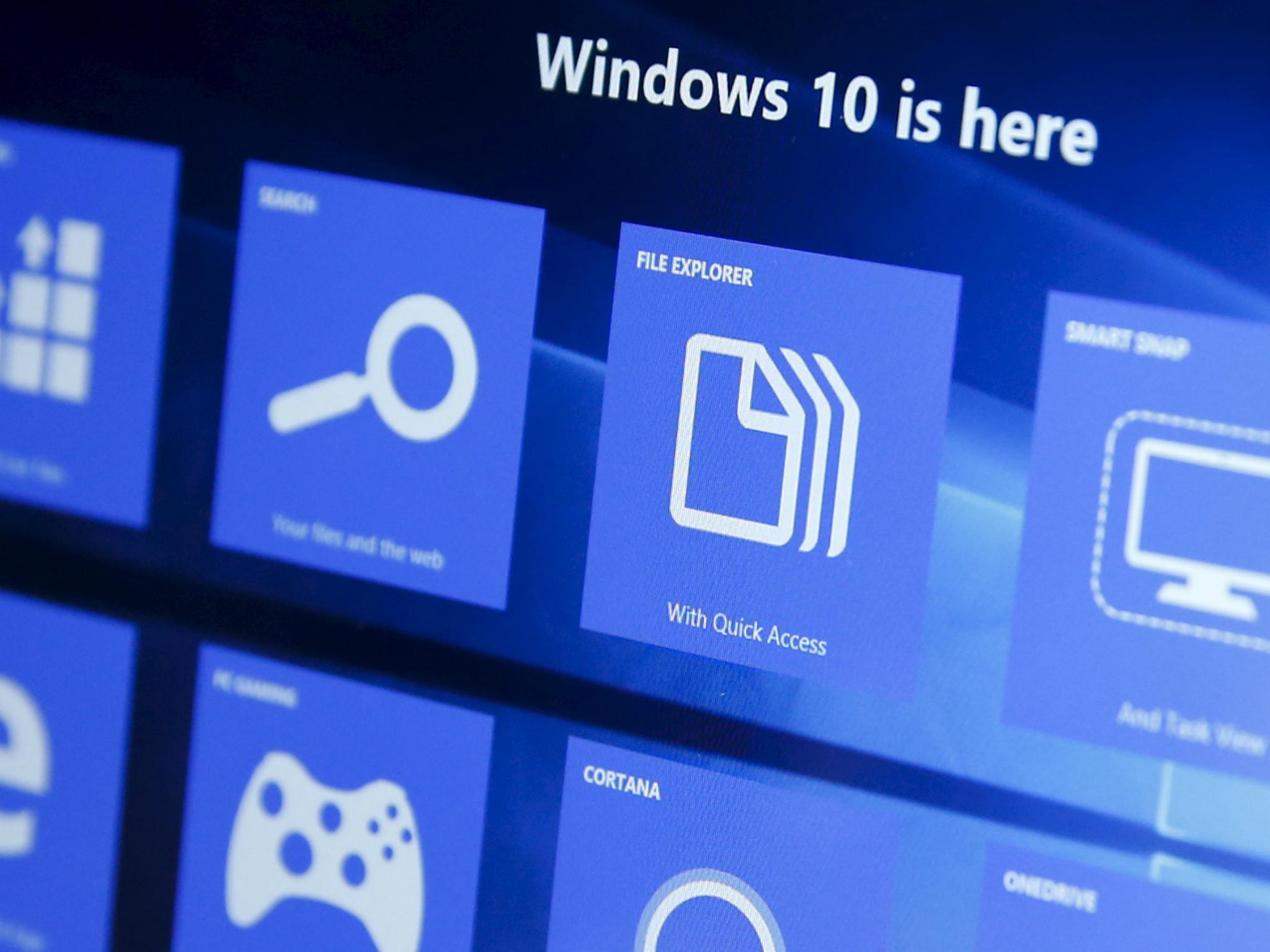 ВWindows 10 Fall Creators Update появятся мультиуровневые объявления