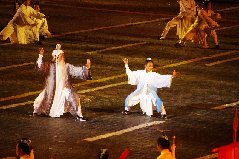 Даосские монахи из Уданшаня