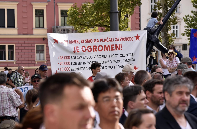 Pahor: Spomenik vabi k razmišljanju. A vsak naj ravna po svoji vesti in svobodno.