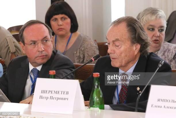 Вячеслав Никонов, Петр Шереметев