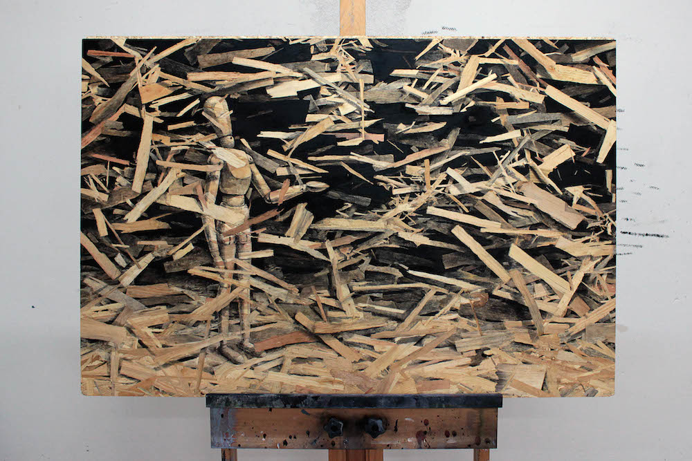 "Pejac's Newest Series ""Redemption"" Utilizes Pressed Wood as Canvas (10 pics)"