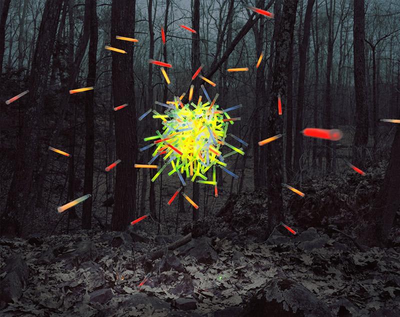 Glow Sticks No. 2 / Courtesy Thomas Jackson