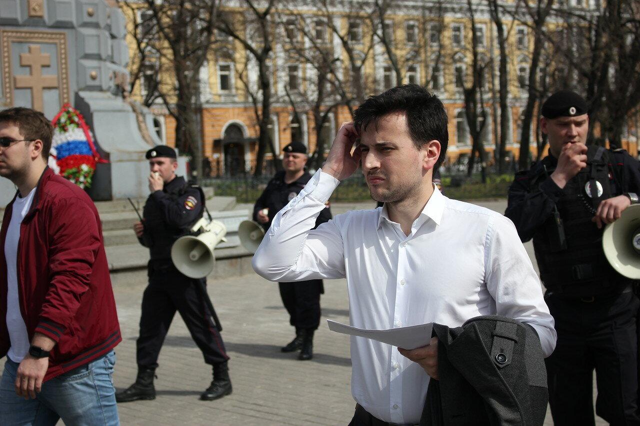 Председатель «Открытой России» Александр Соловьёв