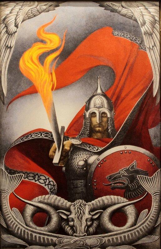 Огненный меч, Константин Васильев