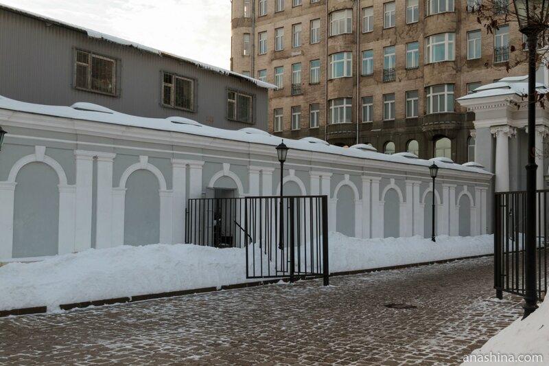 Дом Пашкова, колодец