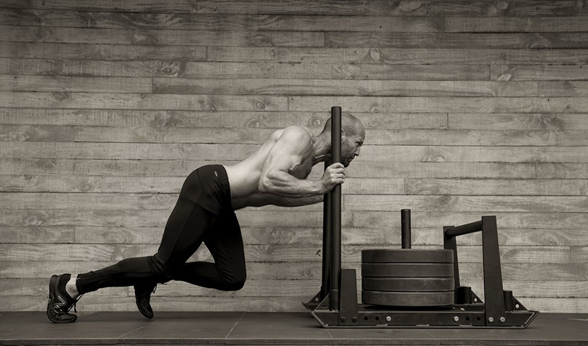 Men's Health UK April 2017: Jason Statham by Daniel Smith