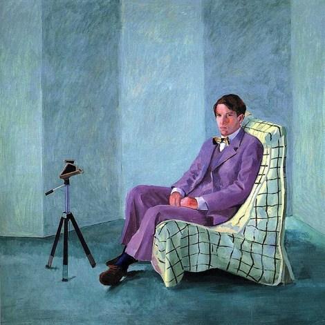 Paintings by Pop Artist, David Hockney