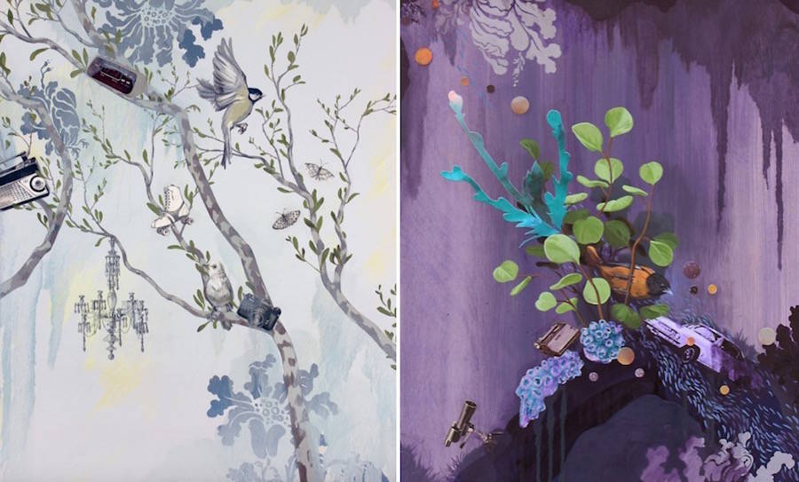 Fauna & Flora Paintings by Lauren Matsumoto