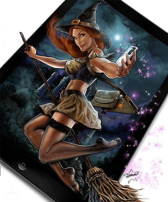 Digital Illustrations by Cris Delara