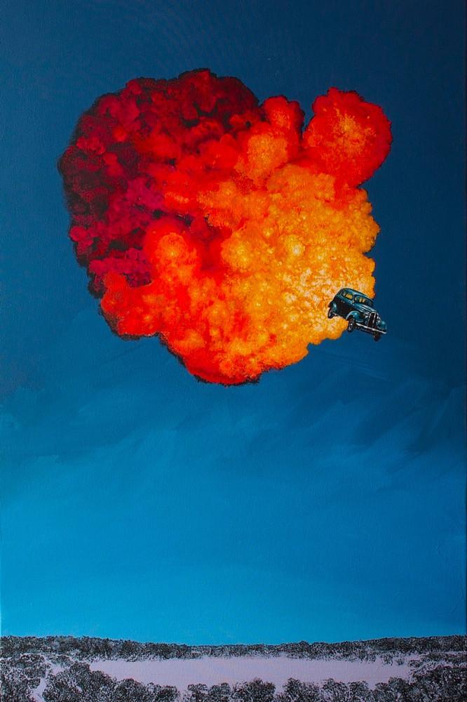 Explosive Paintings by Sean William Randall