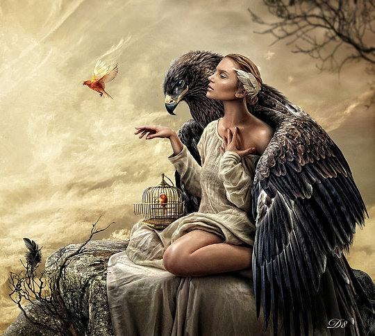 Amazing Digital Art by Eva Lagnim