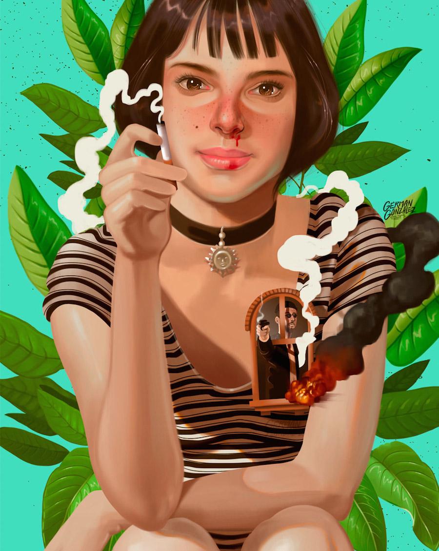 Delicious Portraits by German Gonzalez
