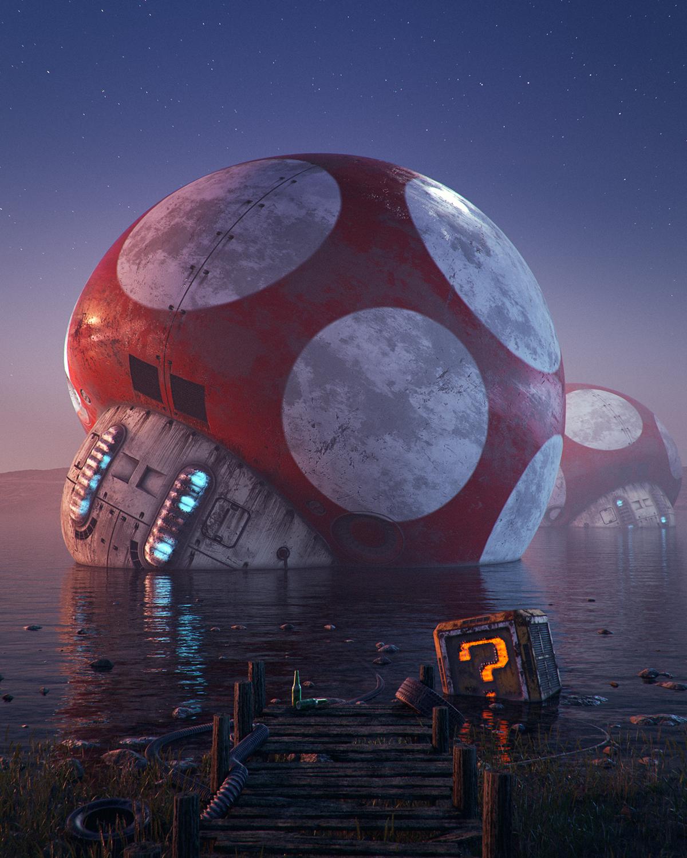 Pop Culture Dystopia by Filip Hodas (7 pics)