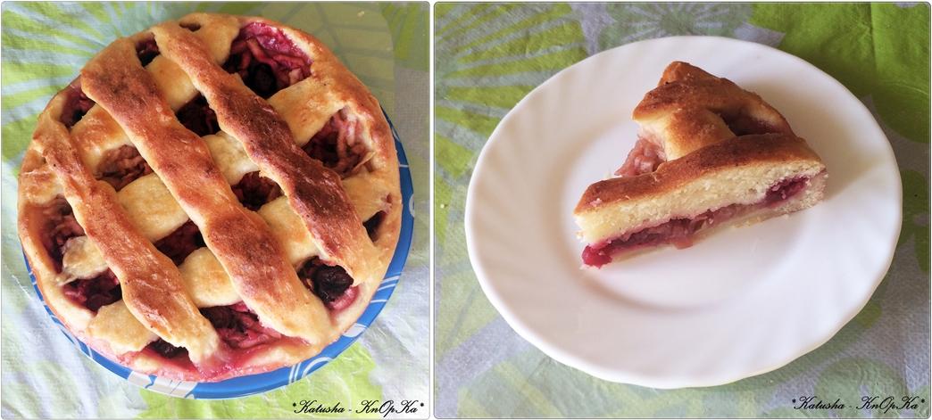 Рецепт пирога с творогом и яблоками в духовке рецепт с