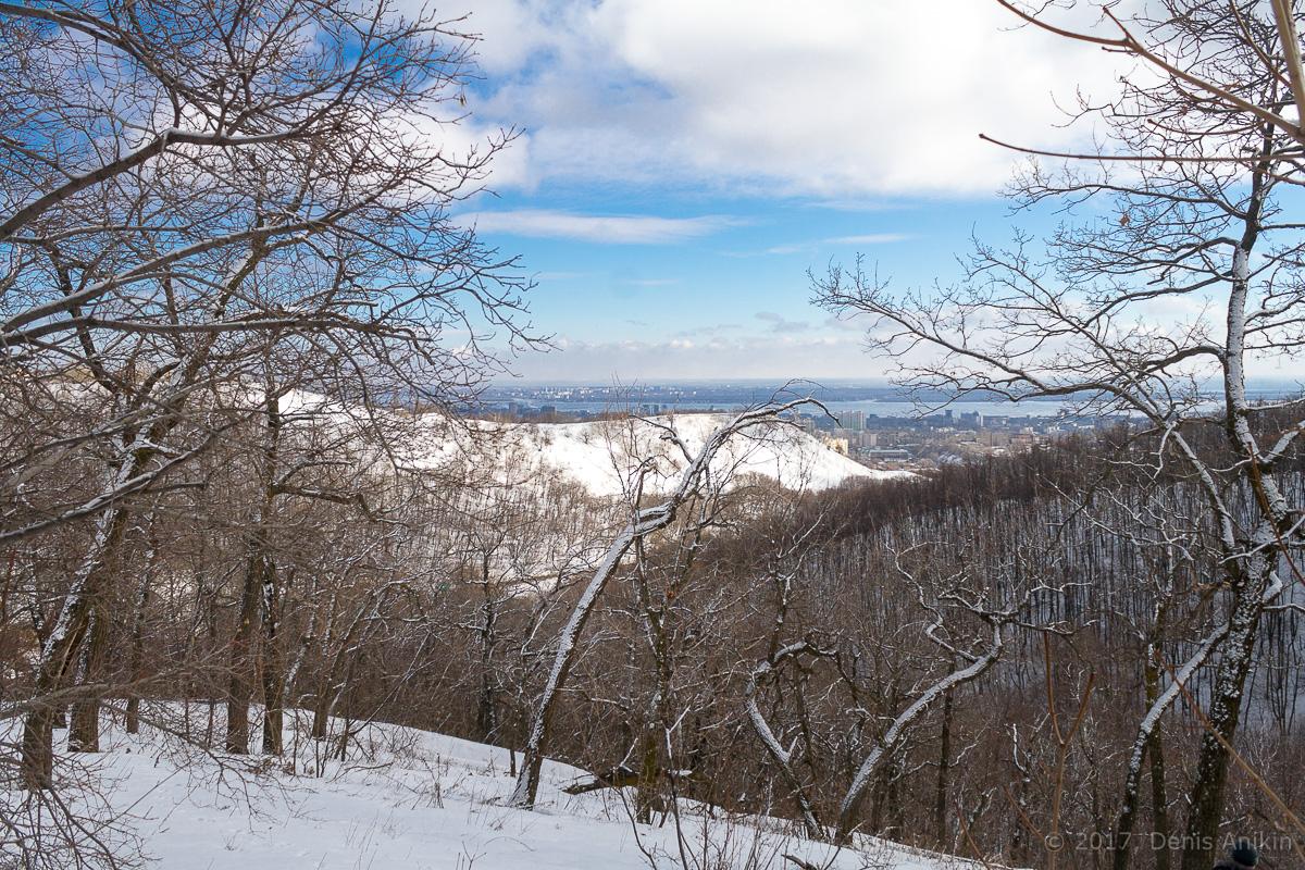 терренкур октябрьское ущелье зима Саратов фото 12