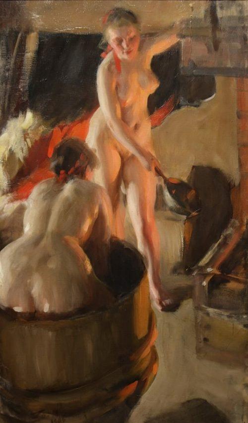 Полотна шведского художника Андерса Цорна