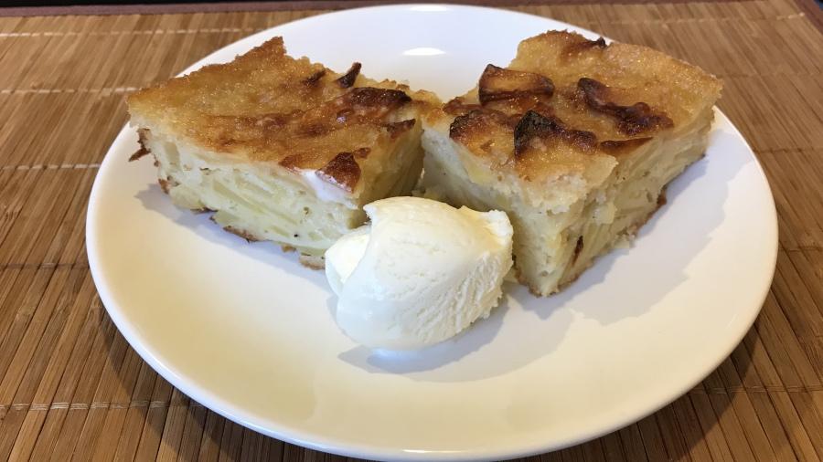 Яблочный пирог леди с авеню де-Бретейль
