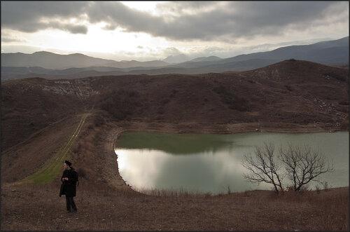 Дамба под горой Коклюк