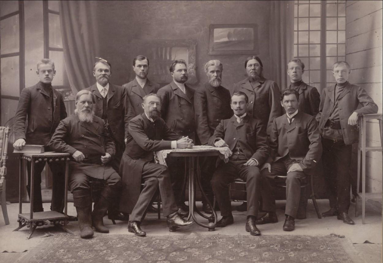 Представители Муромского купечества и мещанства. 1903-1906