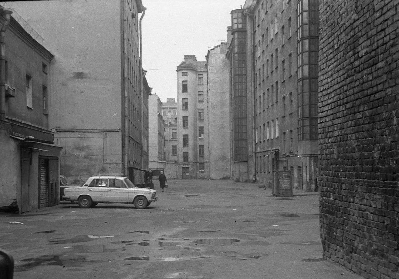 1970-е. Дворы Петроградской
