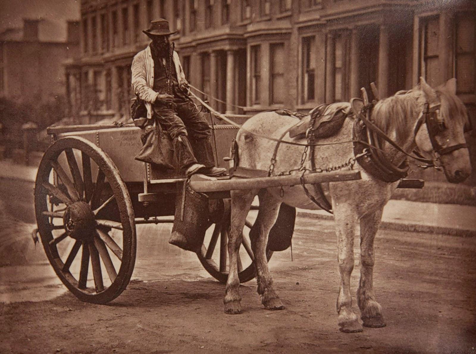 1877. Тележка водовоза