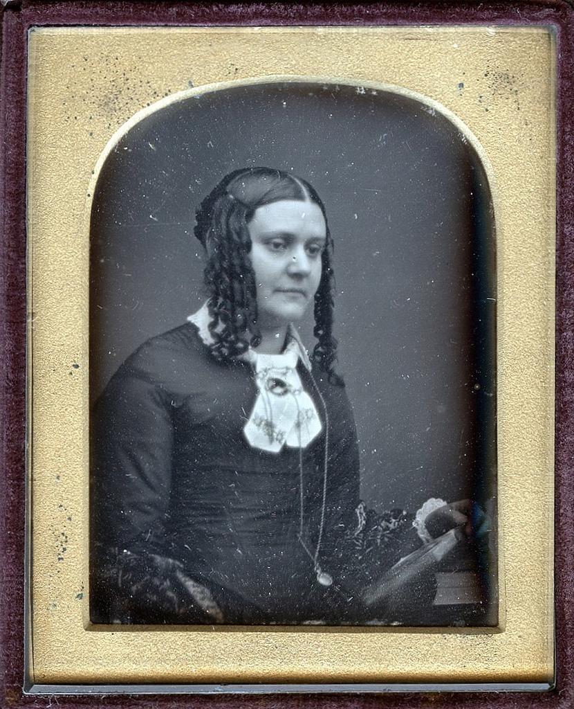 1850. Молодая женщина