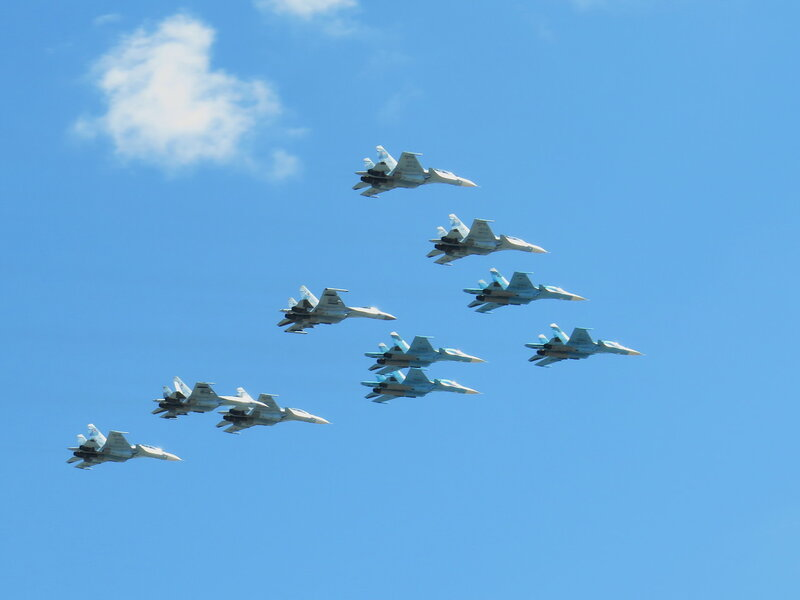 Су-35, Су-34, Су-27