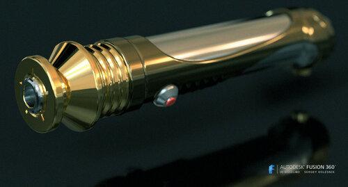 Световой меч Палпатина (2)