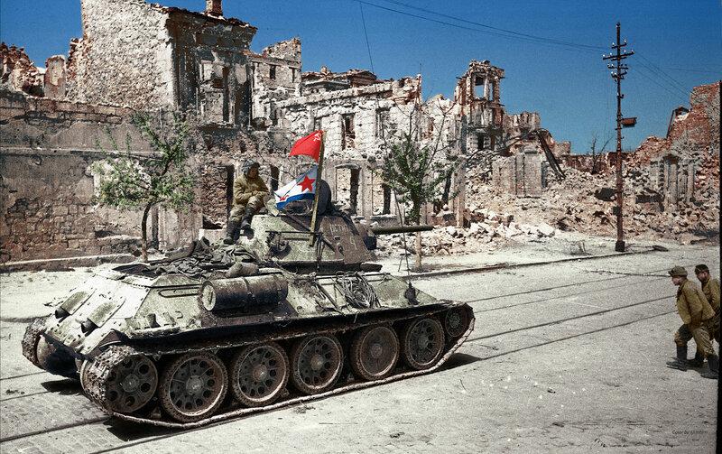 Севастополь, ул. Ленина, 9 мая 1944