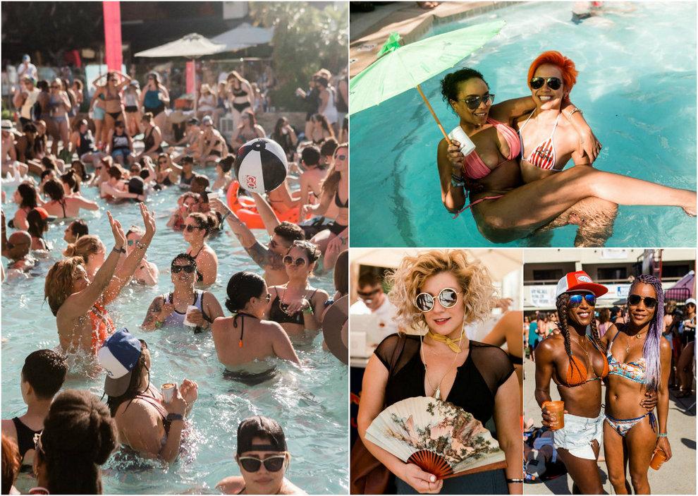 20 000 лесбиянок собрались на вечеринке в Палм-Спрингс
