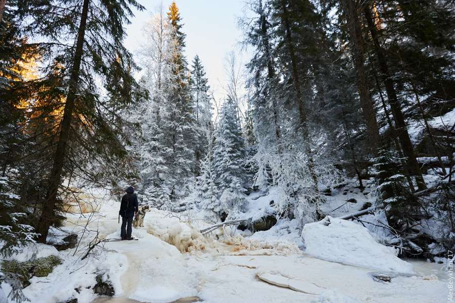 alexbelykh.ru, Водопад Пёюхинкоски, водопады карелии