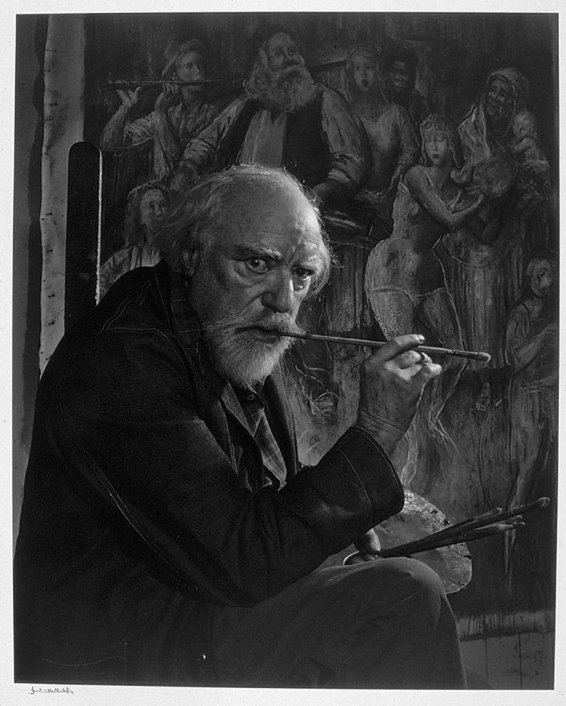 Огастес Джон1954 Юсуф Карш Канадский фотограф 1908-2002