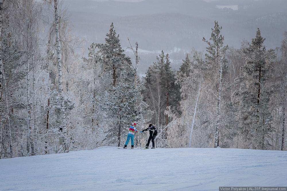 Челябинск. Горные лыжи