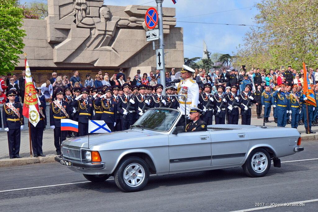 Военный парад в Севастополе. Видео